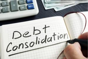 Ways of consolidating debt