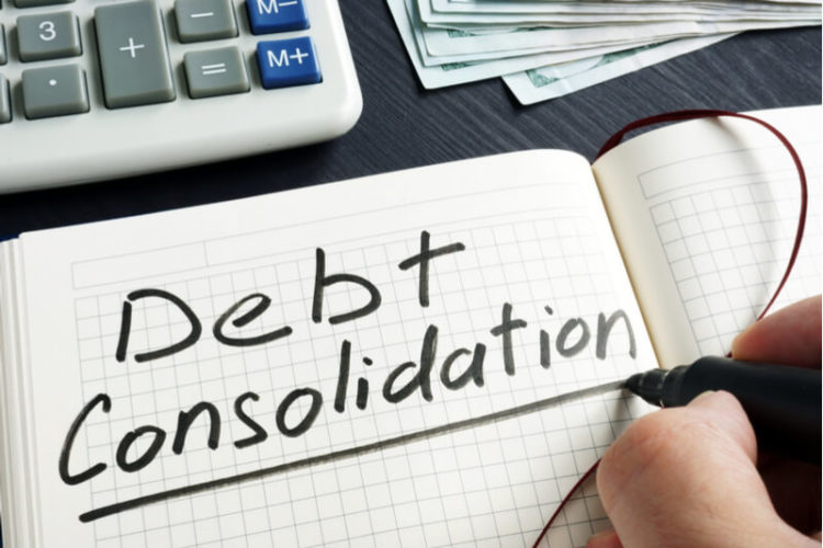 Ways of consolidating debt